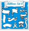 Ribbons Set - vector image