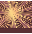 sun ray vector image vector image