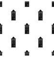 building icon in black style isolated on white vector image