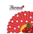 Flamenco culture design vector image