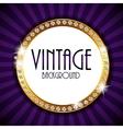 Retro Vintage Background Template vector image vector image