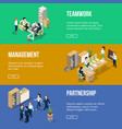 peoples at work in his offices businessman vector image