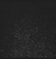 black grunge background abstract texture for vector image