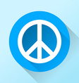 Peace emblem vector image vector image