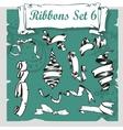 Ribbons Set - vector image vector image