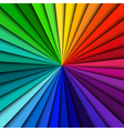 Abstract background spectrum lines vector image vector image