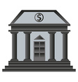 Old bank building vector image