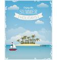 Enjoy the summer vector image