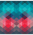 Spectrum geometric background made of triangles vector image