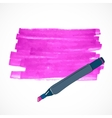 Drawing tools template sketch vector image
