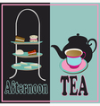Afternoon Tea vector image
