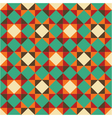 bright geometric retro pattern vector image
