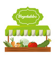 vegetables product agriculture shop image vector image