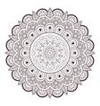 Henna paisley mehndi tattoo doodle seamless vector image