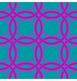 Ring geometric seamless pattern vector image
