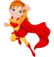 Super Girl vector image