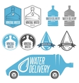 water delivery vector image