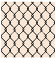 Seamless mesh vector image vector image
