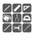 The school icon vector image