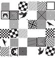 DP pattern 2 vector image vector image