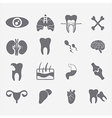 Medical Flat Icons vector image