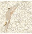 Shabby vintage wallpaper background vector image
