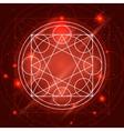 Magic Geometry Sign vector image