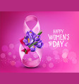Background to the 8th of march womens day vector