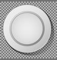 ceramic plate vector image