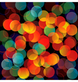 Colorful lights seamless background n vector image