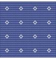 Monochrome vintage simple patten vector image vector image