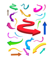 business finance arrows vector image vector image