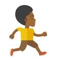 Jogger vector image