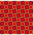 Seamless pattern interlocking rings vector image