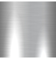 Shiny brushed metal texture vector image