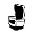 cinema chair isolated vector image