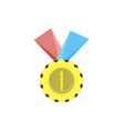 medal gold icon award badge best design element vector image