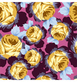 Seamless Rose Patterns vector image vector image