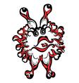fantasy monster personage vector image vector image
