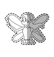 fairy cartoon icon vector image