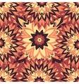 flowers in vintage colors in sketch style vector image