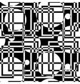 geometric circles seamless pattern vector image