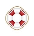Lifebuoy Isolated on White vector image