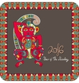 original design for new year celebration with vector image