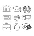 school concept design vector image