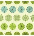 abstract green polka dot stripes seamless vector image