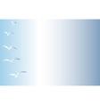 Sky with Birds vector image