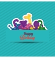 balloons graphic design vector image