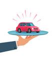 car service dealership dealer concept vector image
