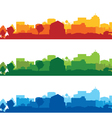 Cityscapes short vector image